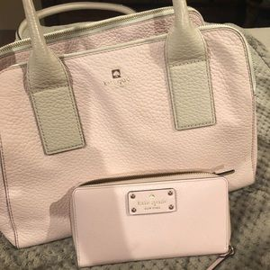 Large Kate Spade Purse with wallet